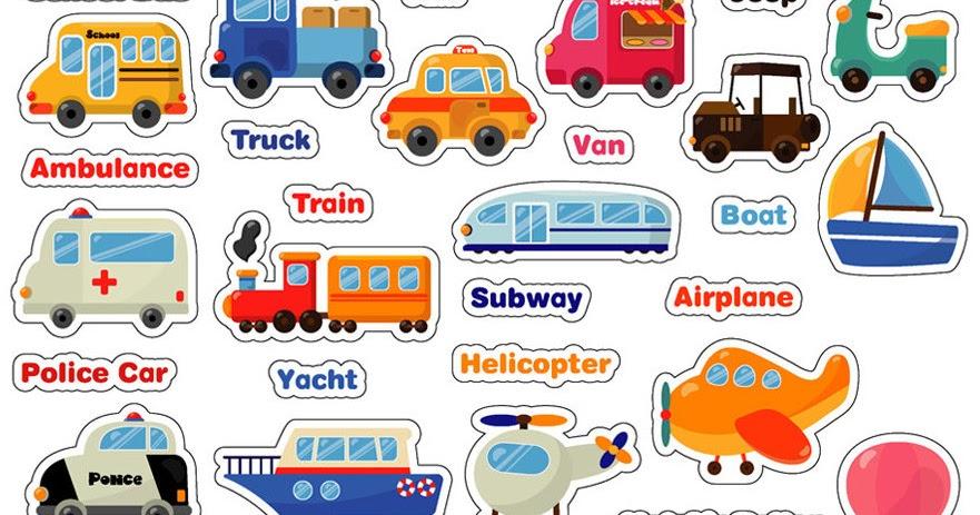 Nama Nama Alat Transportasi Kendaraan Dalam Bahasa Inggris