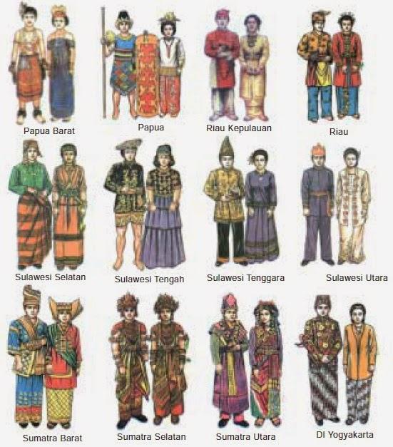 Pakaian Adat Maluku Utara Yogyakarta - Baju Adat Tradisional